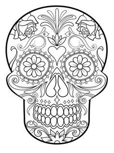 Sugar Skull Version 6 Wall Vinyl Decal Sticker Art Graphic