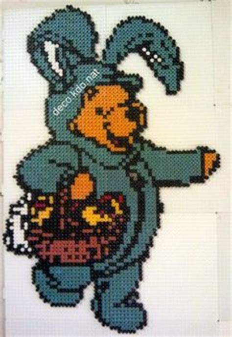 Deco Lapin De Paques by P 229 Ske Perleplader On Perler Hama And Easter Eggs