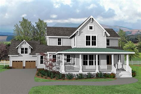 Charming Farmhouse by Charming And Exclusive Farmhouse House Plan 500026vv