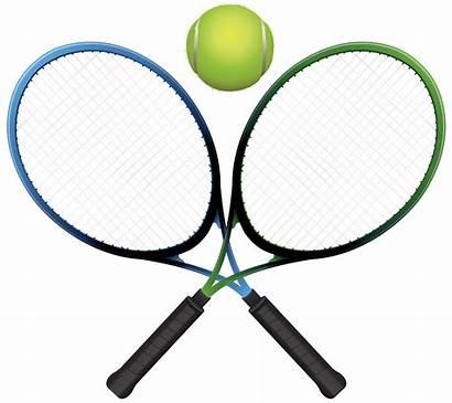 Tennis Racket Ball Clipart Rackets Transparent Clip