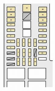 2004 Toyota Tundra Fuse Box Diagram