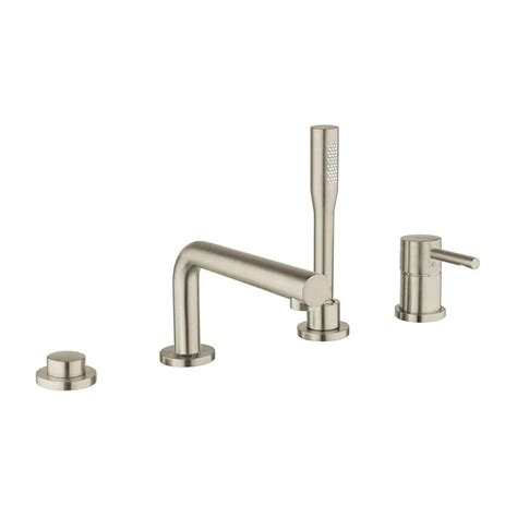 Grohe Tub Filler by Grohe Essence Single Handle Deck Mount Tub Filler