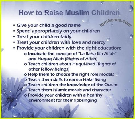 raising children  islam   raise children