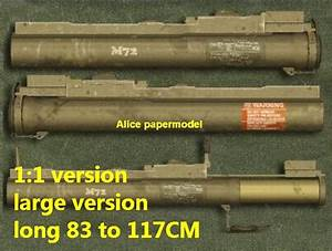 M72 LAW rocket launcher machine gun assault rifle pistol ...