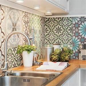 latest superbe peinture carrelage salle de bain castorama With carrelage adhesif salle de bain avec plafonnier industriel led