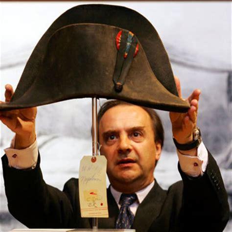 napoleon bonapartes hat fetches million  auction
