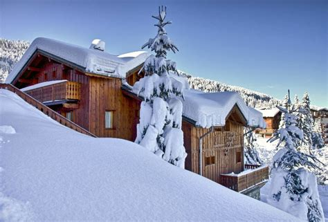 chalet topaz la tania ski chalet for catered chalet