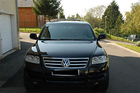 volkswagen touareg occasion voiture d occasion volkswagen touareg 2 5 tdi r5 tiptronic 68000 km 9083