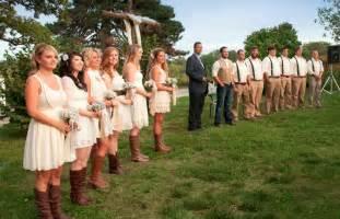 country wedding bridesmaid dresses rustic missouri wedding derek rustic wedding chic