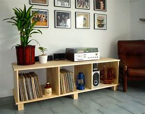 Diy Vinyl Record Player Cabinet