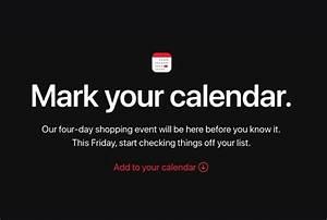 Four Encastrable Black Friday : apple announces four day shopping event starting on black ~ Melissatoandfro.com Idées de Décoration