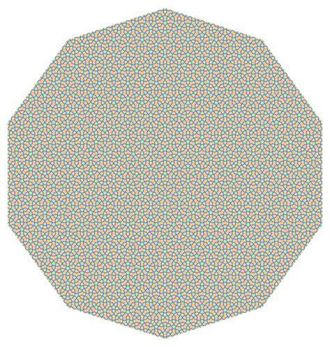 Penrose Tiling Toilet Paper by Niles Johnson Aperiodic Tilings