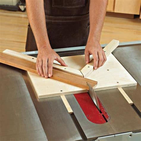 money miter jig woodworking plan wood magazine
