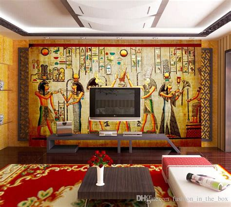 vintage photo wallpaper  egyptian wall murals custom