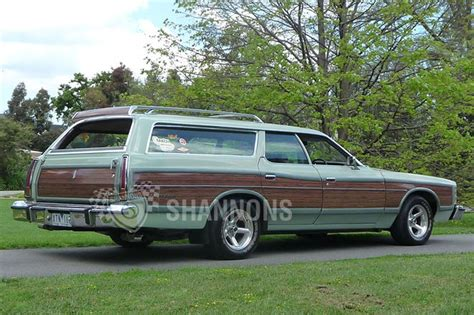 green station wagon ford ltd country squire station wagon rhd auctions lot