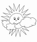 Sun Coloring Pages Momjunction Printables sketch template