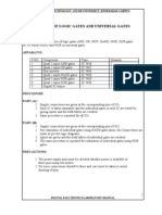 Digital Electronics Lab Report