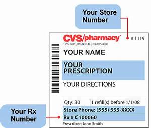 Blank cvs autos post for Cvs prescription label template