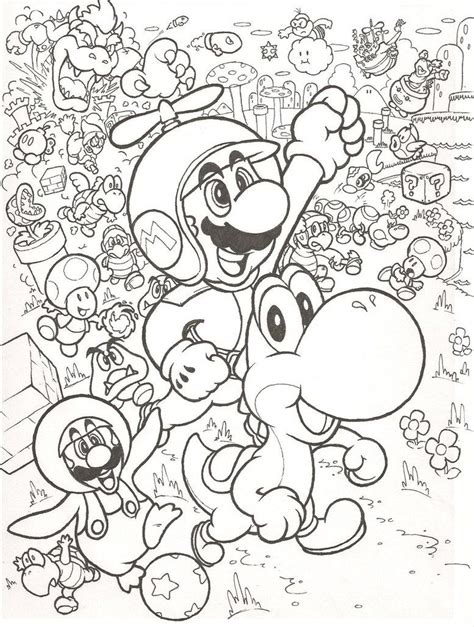Super mario bros coloring pages free new brothers. New Super Mario Bros. Wii by mattdog1000000 | Mario coloring pages, Super mario coloring pages ...