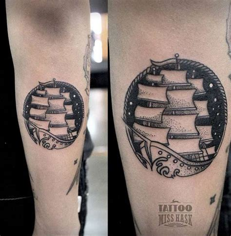 amazing ship tattoos  wont   real