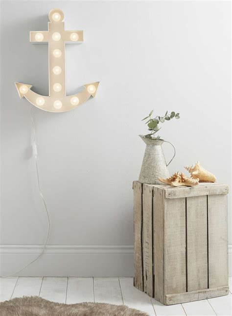 white anchor marquee wall light bhs 163 125 home wants