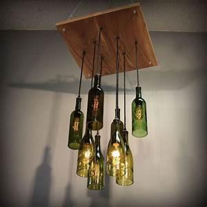 Led Leuchte Flackert : diy lampe aus flasche 39 trendige ideen zum selbermachen ~ Markanthonyermac.com Haus und Dekorationen