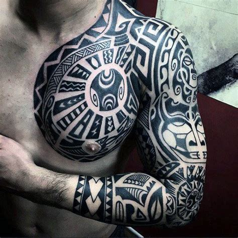 125 Tribal Tattoos For Men With Meanings & Tips Wild