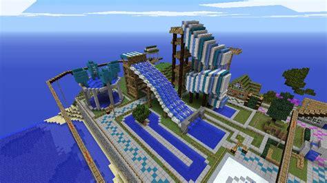 Creeperworld Amusement Park Minecraft Project