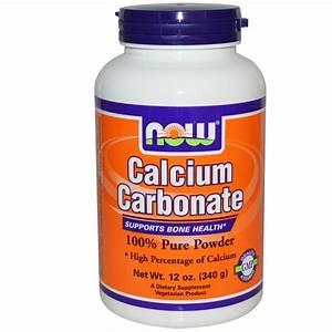 Calcium Carbonate 100  Pure Powder Now Foods Australia