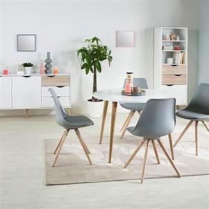 idee deco pour salle a manger du mobilier aux With salle À manger contemporaine avec objet deco scandinave
