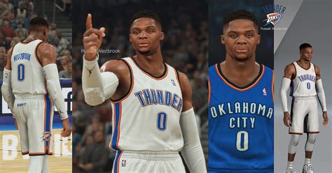 Russell Westbrook Face Hair And Body Model By Yangfugui