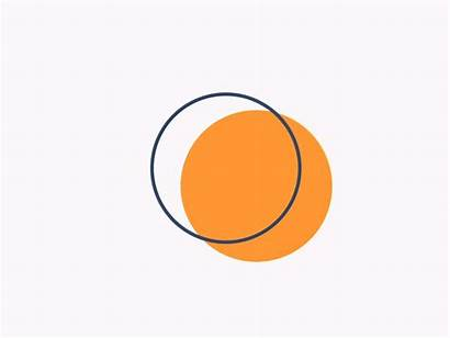 Triangle Orange Circle Dribbble Animation Motion Logodix