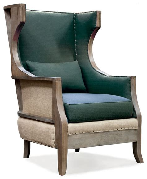 maubrook club chair teal rustic armchairs and
