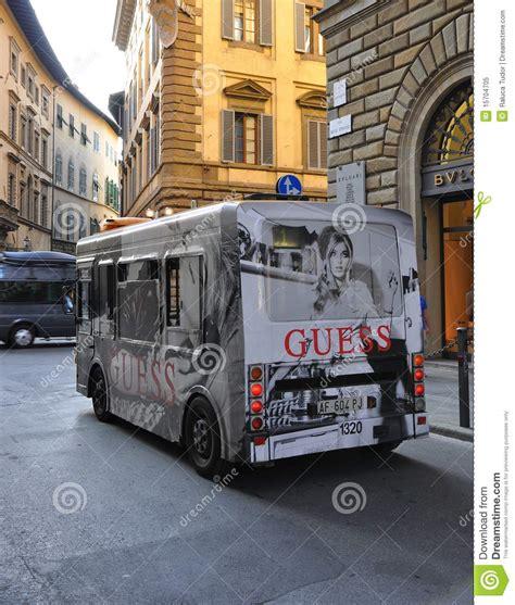public transportation bus  italy editorial image image