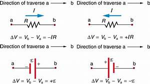 Kirchhoff's Rules – College Physics