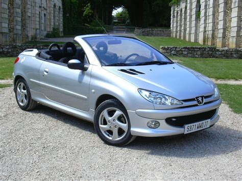 Peugeot 206cc by Peugeot 206 Car Technical Data Car Specifications