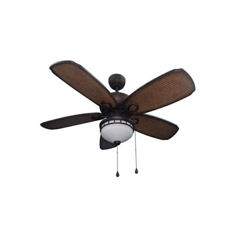 Harbor 52 Inch Ceiling Fan by Shop Harbor Oyster Cove 52 In Aged Bronze Outdoor