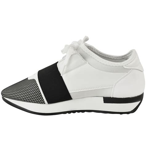 designer shoes for new womens runners bali lace up trainers sneakers