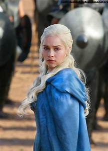 Daenerys Game of Thrones Season 3 Blue Dress Embroidery by ...
