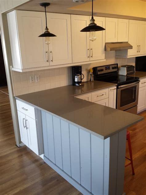 white shaker kitchen cabinets with quartz countertops white shaker cabinets and concerto quartz countertops White Shaker Kitchen Cabinets With Quartz Countertops