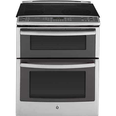 pssfss ge profile series    front control double oven electric convection range