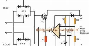 Motorcycle Full Wave Shunt Regulator Circuit