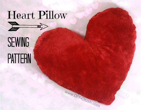 Heart Shaped Valentine's Pillow