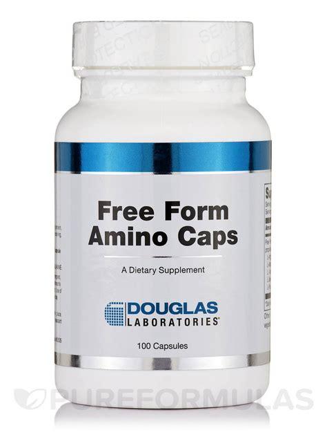free form amino caps 100 capsules