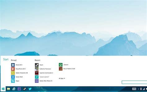 windows 10 lite microsoft pr 233 pare un menu d 233 marrer compl 232 tement revu phonandroid