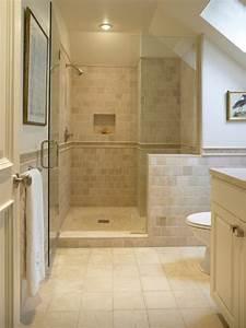 Carrelages Salle De Bain : le carrelage beige pour salle de bain 54 photos de ~ Melissatoandfro.com Idées de Décoration