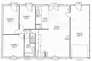 Plan Interieur Maison : grand plan maison facile construction construire avec un ~ Melissatoandfro.com Idées de Décoration