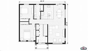 plan de maison 2d