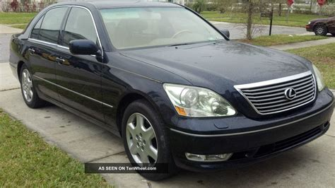 2001 Lexus Ls430 Ultra Luxury Package Images