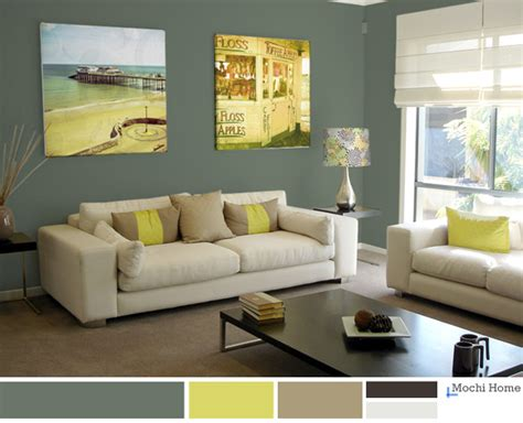 Brown Couch Living Room Color Schemes by Color Study Sage Green Living Room Ideas Mochi Home
